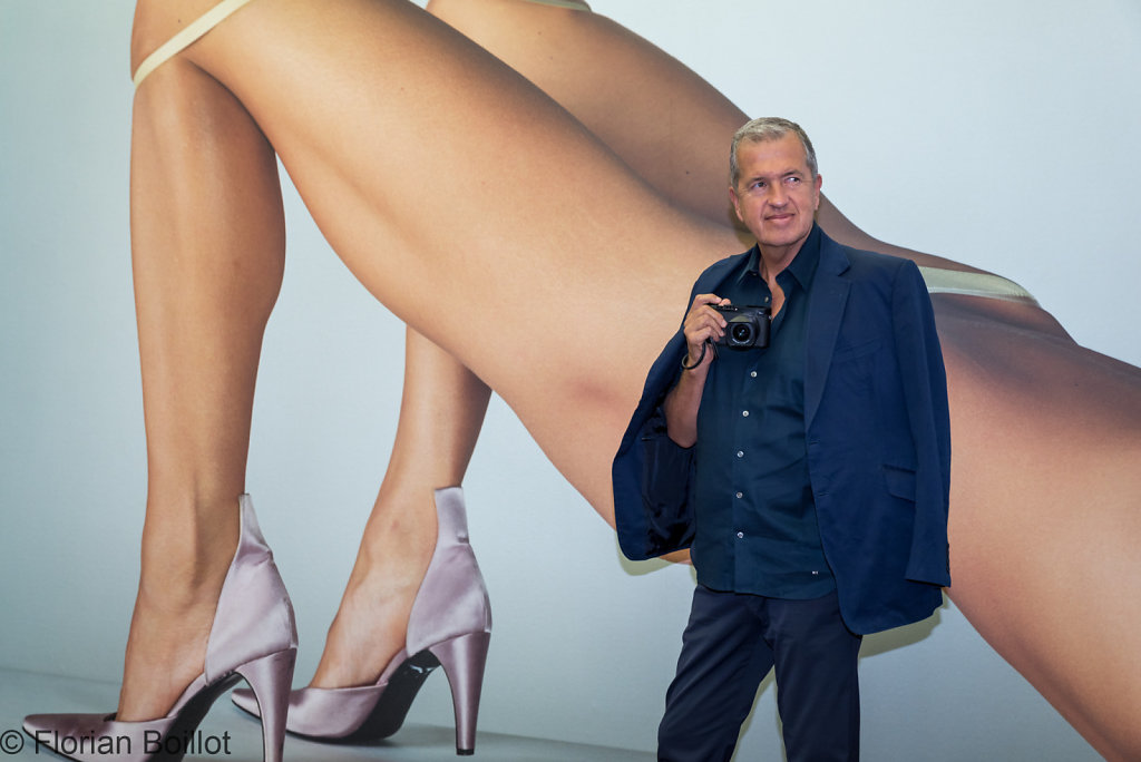 "Pressekonferenz zur Sonderausstellung ""Mario Testino. Undressed, Jean Pigozzi. Pool Party"